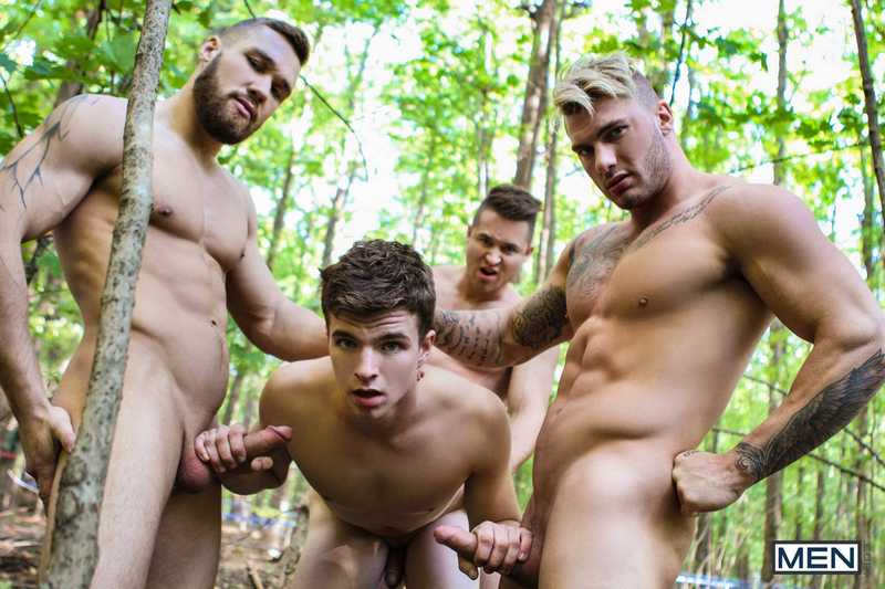 Outdoor gay story with movie muscle man 7